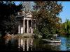 Villa Borghese. Lake
