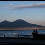 Lovers and Vesuvius