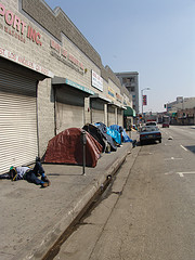 Skid Row tents