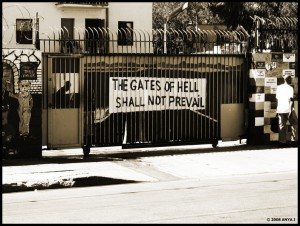 The gates of Hell. Skid Row