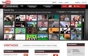 Ho bisogno del vostro supporto. YouTube NextUp.