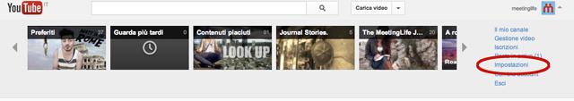 come cambiare nome utente su youtube
