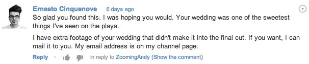 La mia risposta per Andy