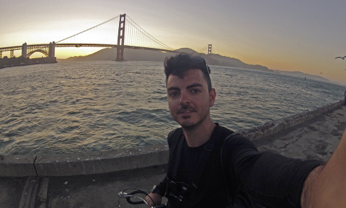 GoPRO Bike ride to the Golden Gate Bridge