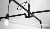 Come costruire un lampadario con tubi idraulici