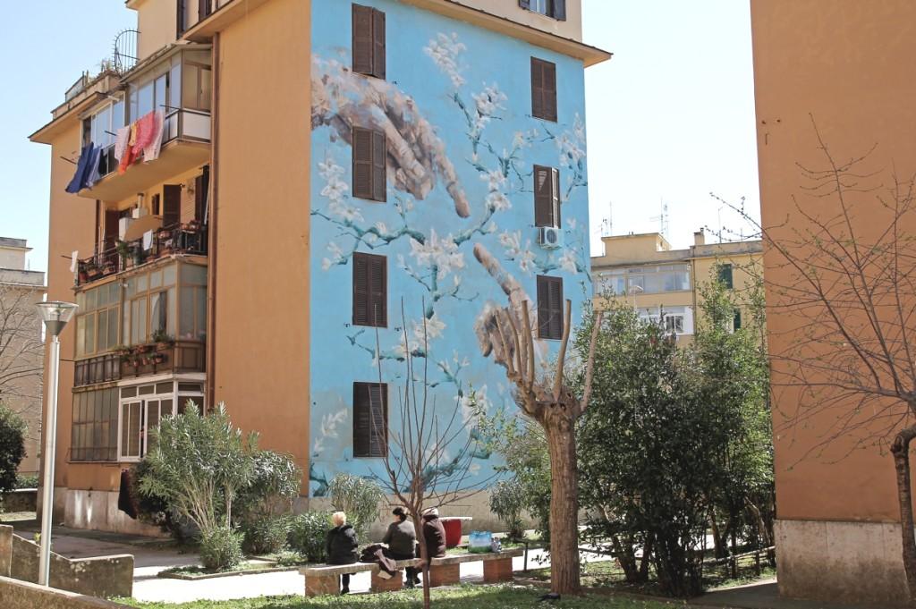 Street art a Tor Marancia